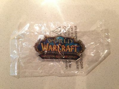 World of Warcraft Promotional Pin — Blizzcon / Gen Con Exclusive