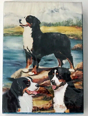 NEW Bernese Mountain Dogs Berners Standard Playing Cards Deck Poker Games Gift