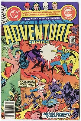 Adventure Comics #463 NM- 9.2 white pages  Flash  DC  Giant  1979  No Reserve