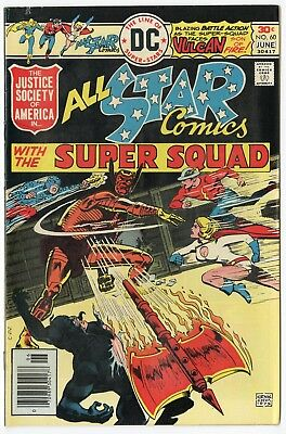 All Star Comics #60 VF/NM 9.0 white pages  Justice Society  DC  1976  No Reserve