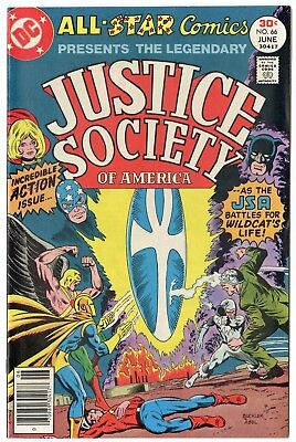 All Star Comics #66 NM 9.4 white pages  Justice Society  DC  1977  No Reserve