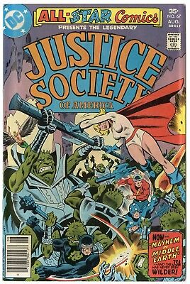 All Star Comics #67 NM- 9.2 white pages  Justice Society  DC  1977  No Reserve