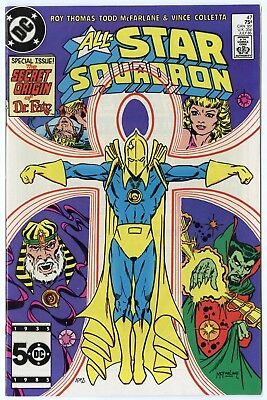 All Star Squadron #47 NM 9.4 white pages  1st full McFarlane story  DC  1985
