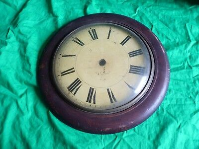 Antique clock glass / dial / front – Oxford ?