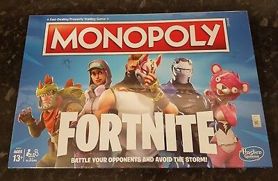Monopoly Fortnite Edition Board Game Multi Color From Hasbro Gaming