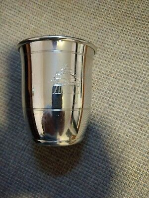 Vintage Salisbury Pewter Chesapeake Bay Cup the Lighthouse