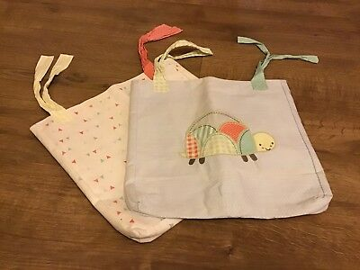 Cot Pockets - Mothercare - x2