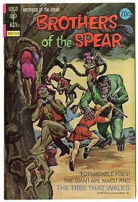 Brothers of the Spear #7 VF/NM 9.0 off-white pages  Gold Key  1973  No Reserve