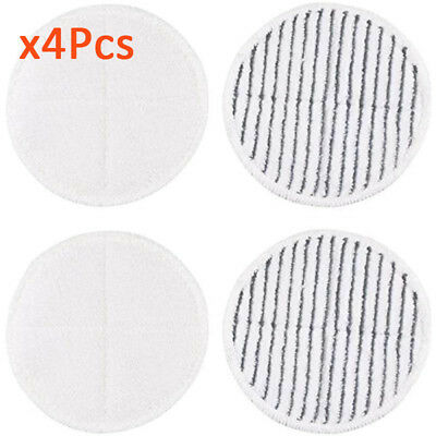 4PCS set Mop Pads For Bissell Spinwave 2039A 2124 Powered Hard New High Quality