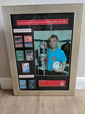 Nottingham Forest Memorabilia - Clough League Cup Glory Years