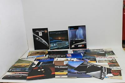 JOB LOT OF 60 x Various Make Vintage Collectible Car Magazines 1970's-90's