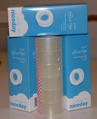 Sellotape - 6 rolls 25mm x 33m Clear Easy Tear Tape