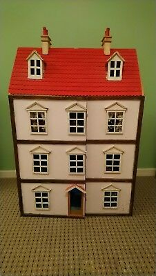 Vintage Dolls House with accessories and miniatures included