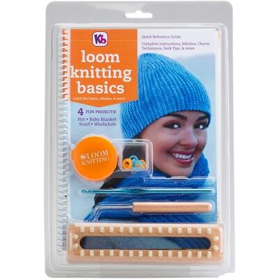 Knitting Board Loom Knitting Basics Kit-