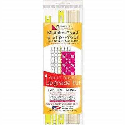 Guidelines4quilting Quilt Ruler Upgrade Kit-