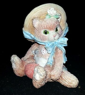"Enesco Calico Kittens - ""I'm All Fur You"" 327968 - 1992"