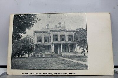 Massachusetts MA Westfield Home for Aged People Postcard Old Vintage Card View