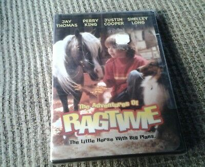 The Adventures Of Ragtime (2005) DVD Brand New Sealed , OOP/NEW!