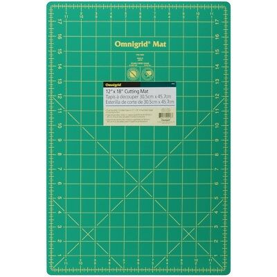 "Omnigrid Cutting Mat W/grid 12""x18""-"