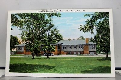 Arkansas AR Texarkana Country Club House Postcard Old Vintage Card View Standard