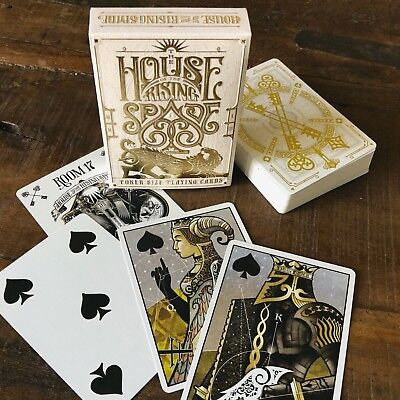 The House of the Rising Spade (Faro) Playing Cards by Stockholm17