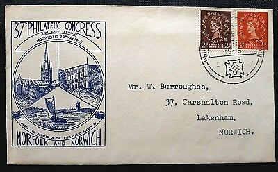 37th Philatelic Congress Norfolk & Norwich Commemorative Cover / Special Cancel