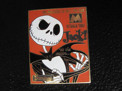 Disney DLR M Magazine Collection 2007 October Nightmare NBC JACK SKELLINGTON Pin