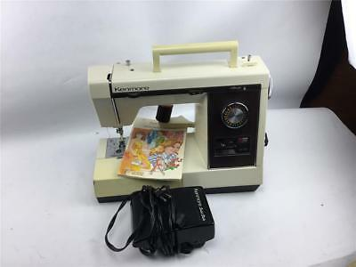 SEARS KENMORE SEWING Machine 40 With Foot Pedal Owners Manual Adorable Kenmore Sewing Machine Owner's Manual