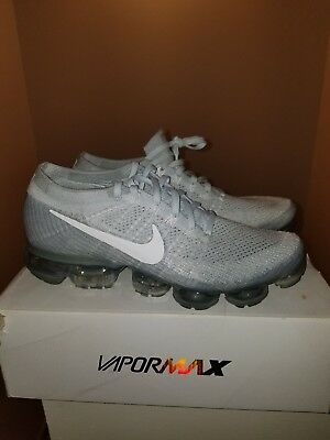 Nike Air Vapormax Flyknit PURE PLATINUM size 10