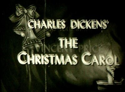 A Christmas Carol  1949 16mm TV  Show - With Vincent Price
