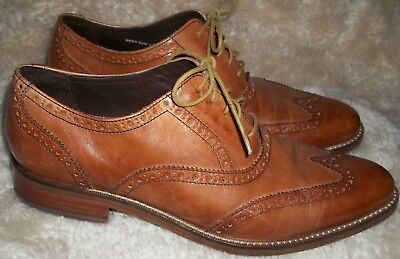 Great pair of Vintage Colei-Haan oxfords, size 11 D. very good shape! brown leat