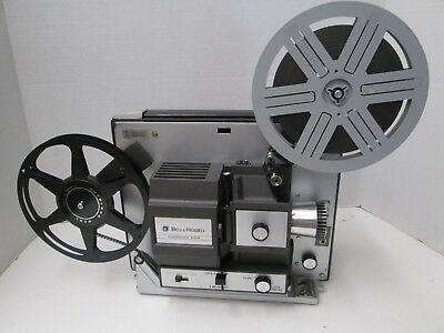 Bell & Howell Model 458A Dual 8mm/Super8 Autoload Projector - New Belt!
