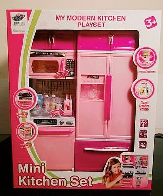 Modern Kitchen 15 Battery Operated Toy Kitchen Playset 11 12 Tall