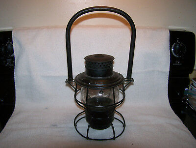 UP Adlake 250 Union Pacific Railroad Lantern with Metal Bail & Adlake Globe