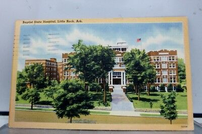 Arkansas AR Baptist State Hospital Little Rock Postcard Old Vintage Card View PC