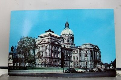 Indiana IN State House Indianapolis Postcard Old Vintage Card View Standard Post