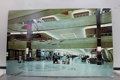 Pennsylvania PA Airport Pittsburgh Postcard Old Vintage Card View Standard Post