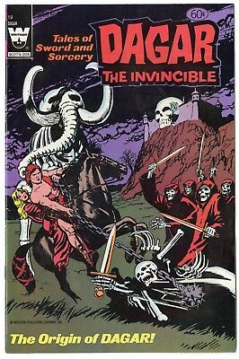 Dagar the Invincible #19 NM- 9.2 ow/white pages  Whitman  1982  No Reserve