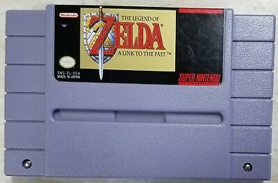 The Legend of Zelda A Link To The Past (Authentic)(Super Nintendo SNES)