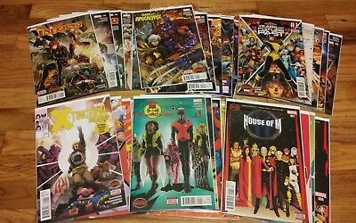 Collection of Marvel Secret Wars Mini-Series - various X-Men based titles (NM)