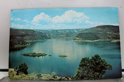 Wyoming WY Flaming Gorge Lake Postcard Old Vintage Card View Standard Souvenir