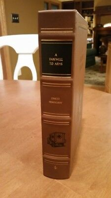 A Farewell to Arms by Ernest Hemingway  Easton Press 1990  Illustrated
