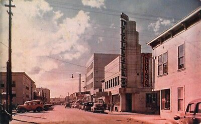 AK - 1940's Art Deco Lacey St. Theater  in Fairbanks, Alaska