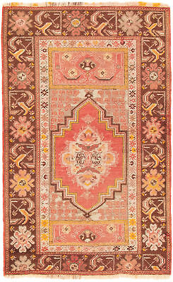 """Hand-knotted Turkish 3'0"""" x 4'11"""" Antique Shiravan Wool Rug...DISCOUNTED!"""