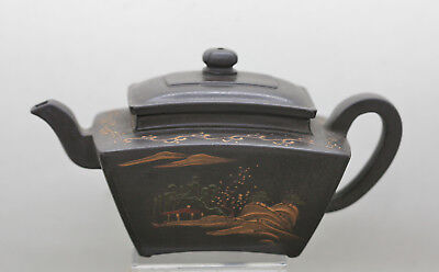 Antique Chinese Yixing Teapot Made & Signed By Yixing Master Chen Mingus (陈鸣远)