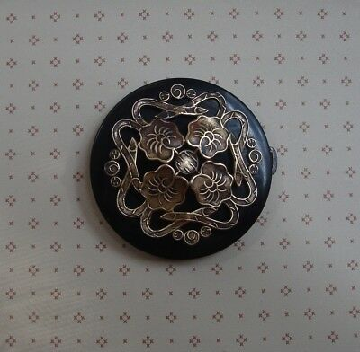 Art Nouveau Button Buckle 1800's Large 2 1/2""