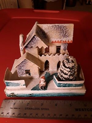 Japen Vintage Christmas Village Houses with Santa
