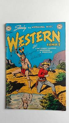 Western Comics #33 Vg+ 4.5 (Dc 1948 Series) Original Owner Collection