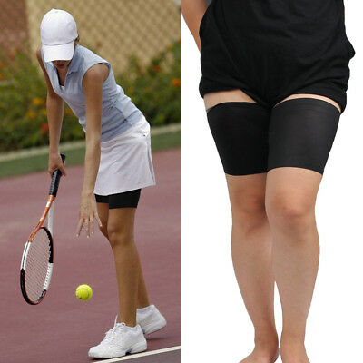 Women Elastic Anti Chafing Thigh Bands Non Slip Protection Comfort Leg Warmers.