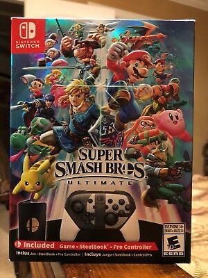 Super Smash Bros. Ultimate Special Edition Bundle -  Nintendo Switch **In Hand**